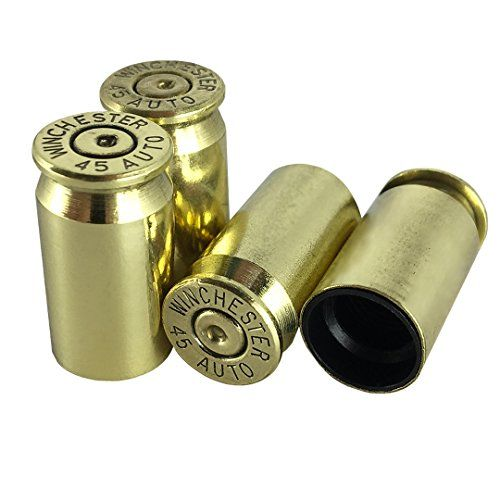 OPG3 Real Bullet Valve Stem Caps Set of 4 Custom Brass Authentic Quality Gold Chrome Polished Silver Anodized Black Aluminum Bullet Easy Screw On Tire Covers Car Wheel Truck Caps (Brass). For product info go to:  https://www.caraccessoriesonlinemarket.com/opg3-real-bullet-valve-stem-caps-set-of-4-custom-brass-authentic-quality-gold-chrome-polished-silver-anodized-black-aluminum-bullet-easy-screw-on-tire-covers-car-wheel-truck-caps-brass/