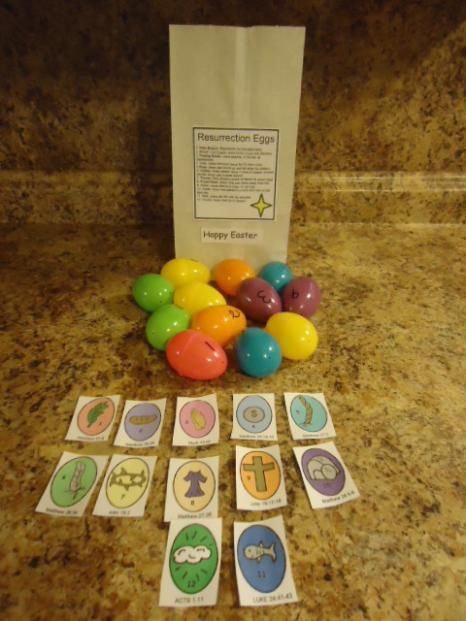 Resurrection Eggs Craft