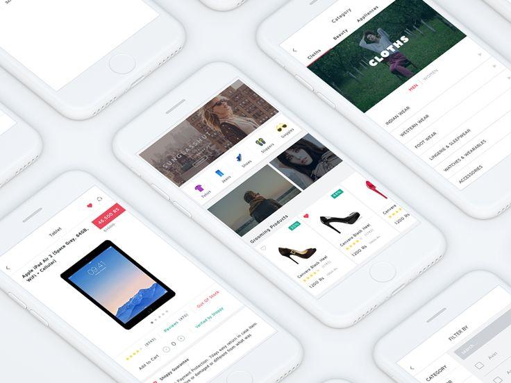 Shoppy UI Kit (Ecommerce ) by WSDesign