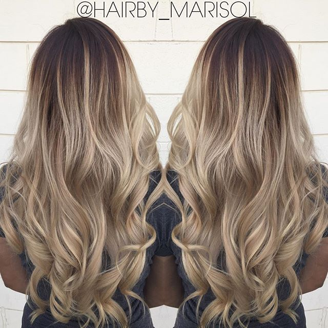 Please call or txt to set up an appointment (661)709-1752. #blondeombre…