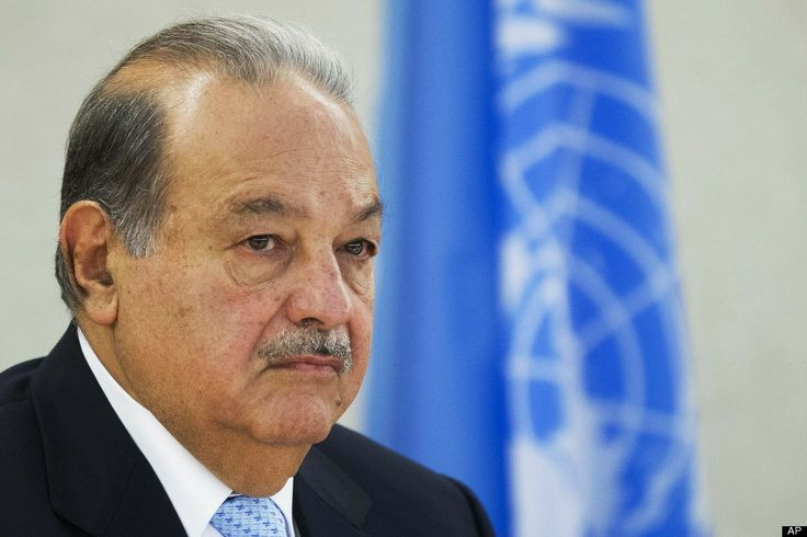 The 10 Richest People In The World  #1. Carlos Slim Helu is a business magnate in telecommunications, mining, and banking. He is the world's richest man.    Estimated net worth as of August 8, 2012: $74.1 billion (Bloomberg Billionaires Index).