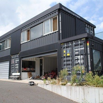 1234 best images about sea containers tiny houses on pinterest shipping container design - Sea container homes plans ...