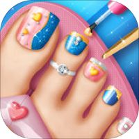 Toe Nail Salon Game for Fashion Girls: Foot Nail Makeover and Pedicure Designs by Dimitrije Petkovic