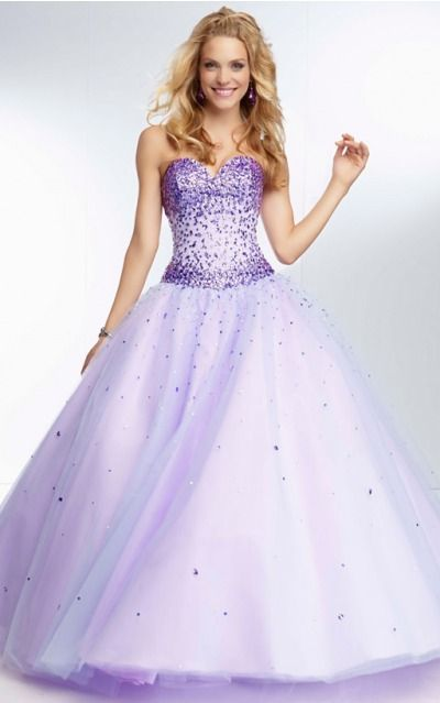 Sleeveless Sweetheart Lace-up Tulle Floor-length Formal Dresses zyh192