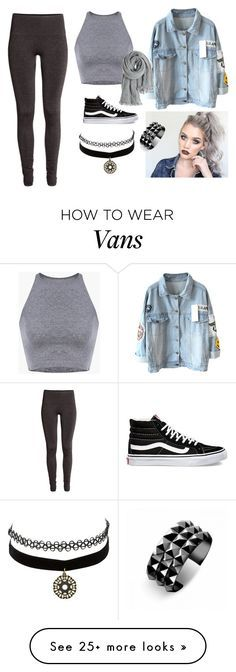 """""""Sin título #151"""" by abigail-15-love on Polyvore featuring H&M, Vans, Charlotte Russe, Calypso St. Barth and Waterford"""