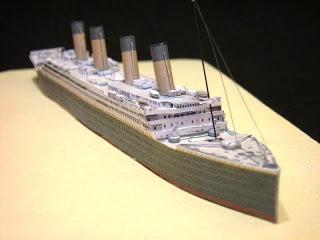 paperjerry modelismo a escala en papel titanic fun with paper