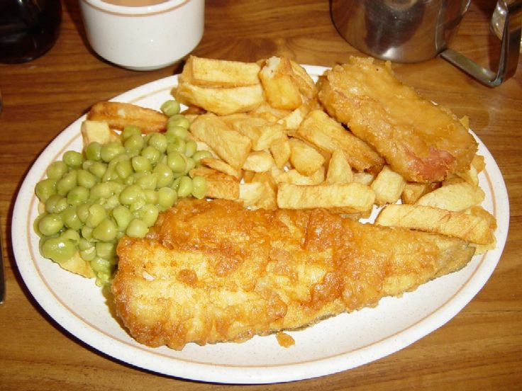 The best fish and chips come from Grimsby!
