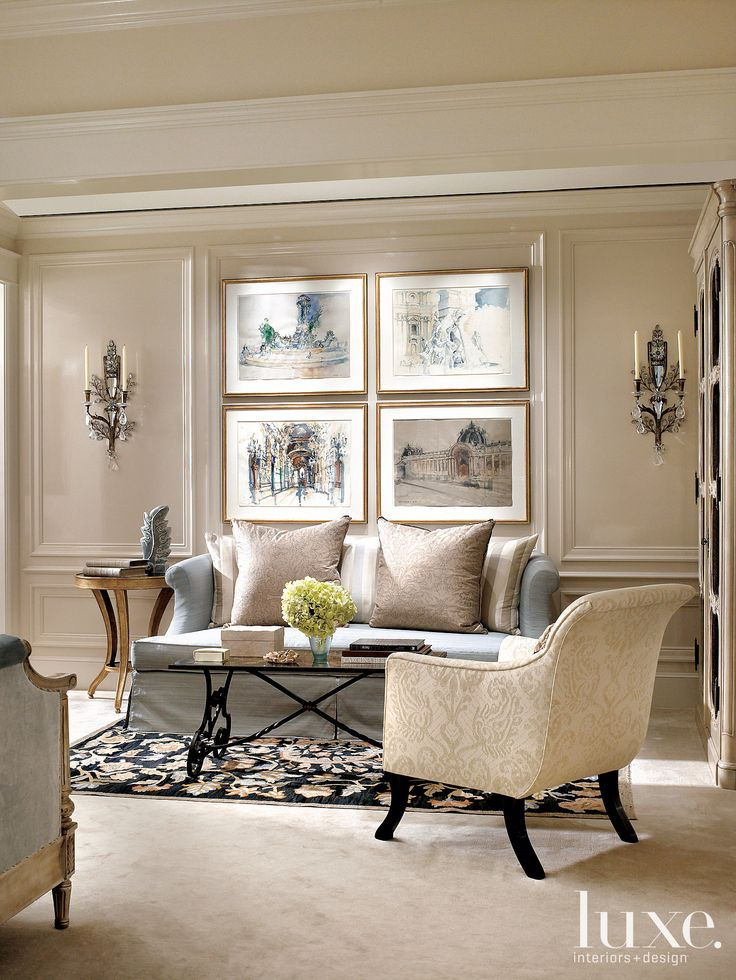 Interior Designer Jessica Lagrange. Living Room Decor ElegantFancy Living  RoomsCream ...
