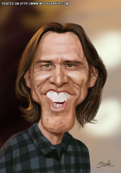 Jim Carrey... how do you say Seattle Washington??? Grunge look