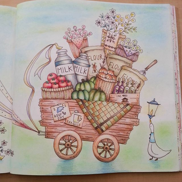 463 Best Images About Romantic Country Coloring Books On