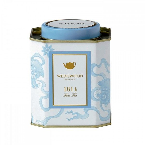 Wedgwood Taste of History 1814 Chinese Tigers Tea Caddy - 100g ($23) ❤ liked on Polyvore featuring home, kitchen & dining and wedgwood