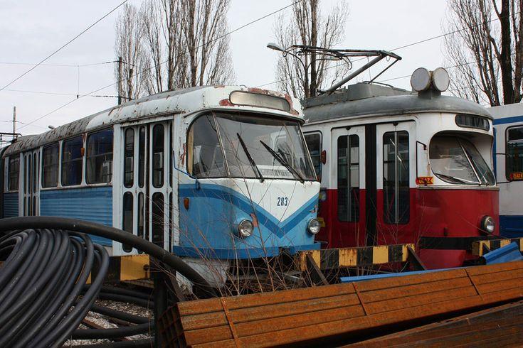 Remise Depot Betriebshof ex Wien Straßenbahn Tram Sarajevo