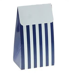 12 Sambellina Candy Stripe Blue Party Boxes - Included in the standard $115 and deluxe $175 packs www.strawberry-fizz.com.au