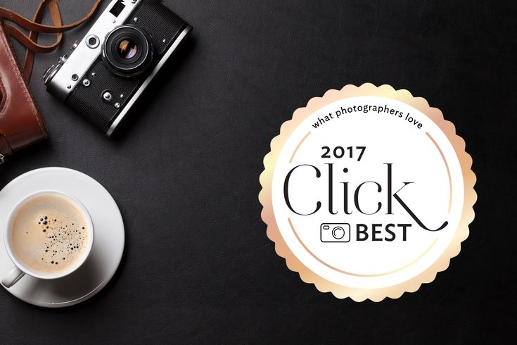 Welcome to the Click Magazine annual roundup of the best products in photography. Here are 100 products we think are pretty amazing — gear, services and innovations that made it so fun and fulfilling to be a photographer in 2017.  Our all-female team of photo editors, instructors and mentors have compiled this ultimate list of our