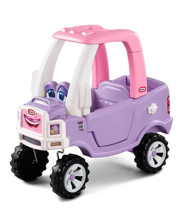Another great find on #zulily! Princess Cozy Truck Ride On by Little Tikes #zulilyfinds