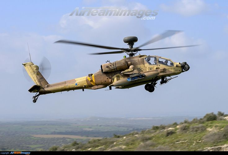 "Boeing AH-64D ""Saraf"" [Serpent],(""Apache Longbow""- Israel Air Force)"