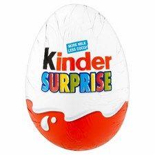 Retail Pack Kinder Surprise Egg x 48