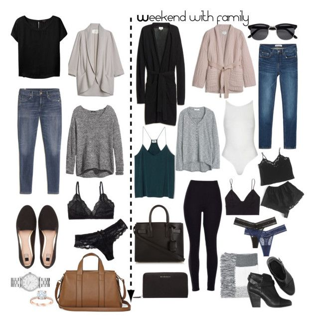 """Weekend with family"" by karleighrempel on Polyvore featuring Victoria's Secret, H&M, Pull&Bear, Wilfred Free, Talula, MANGO, Marc by Marc Jacobs, Chantelle, Topshop and Zara"