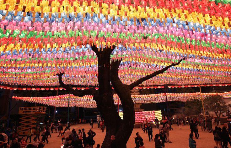 Festival delle lanterne, corea del sud