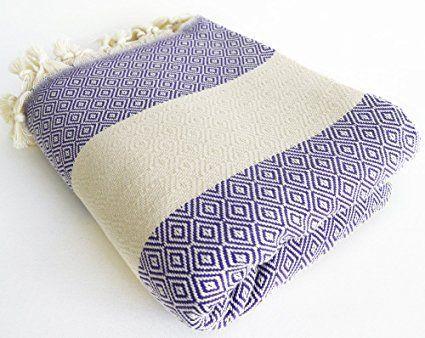 Amazon.com: NEW -Turkish Beach Bath Towel - BathStyle Diamond Turkish - Wedding Gift, Spa, Swim, Pool Towels and Pareo (Black): Home & Kitchen