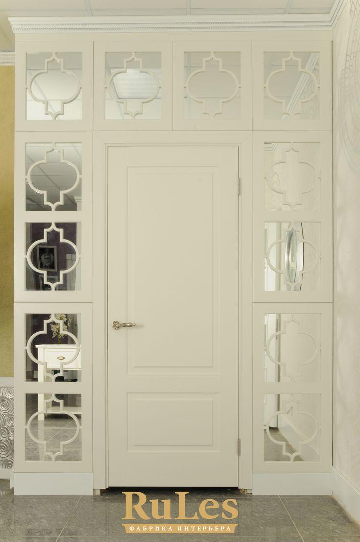 Изысканная межкомнатная дверь.  #двери #межкомнатные #рулес #интерьер #дизайн