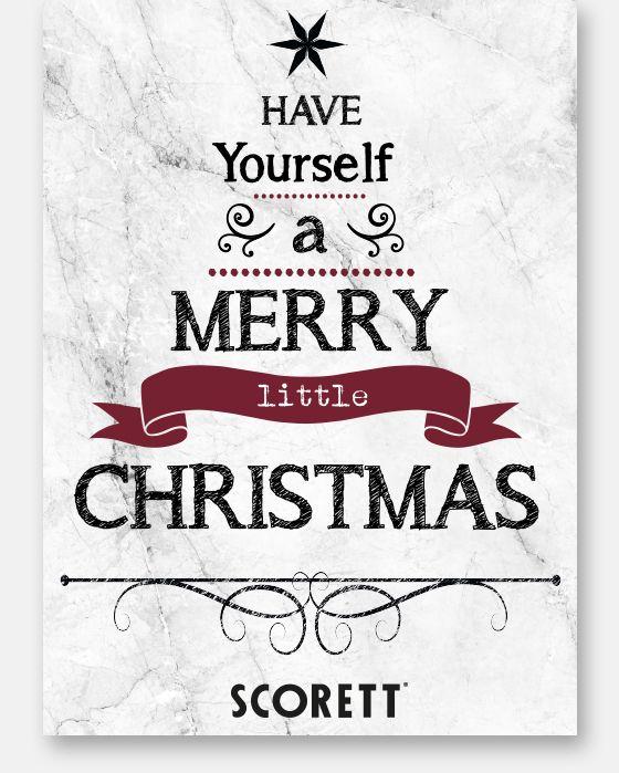 God Jul önskar Scorett