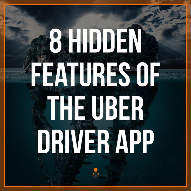 8 Hidden Features of the Uber Driver App https