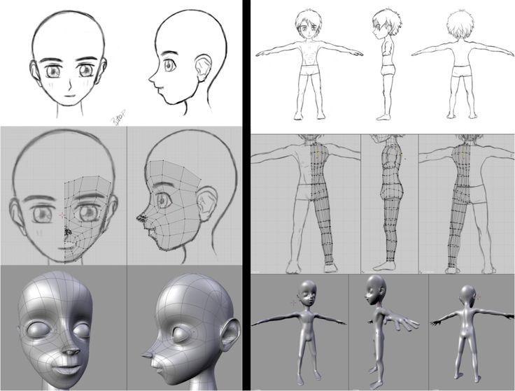 Character Design In Blender : Best images about blender on pinterest models book