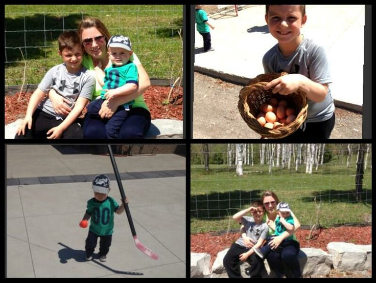 Laurie Bowmaster: some Mother's Day fun at the farm.