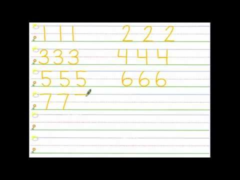 the numeral song - YouTube