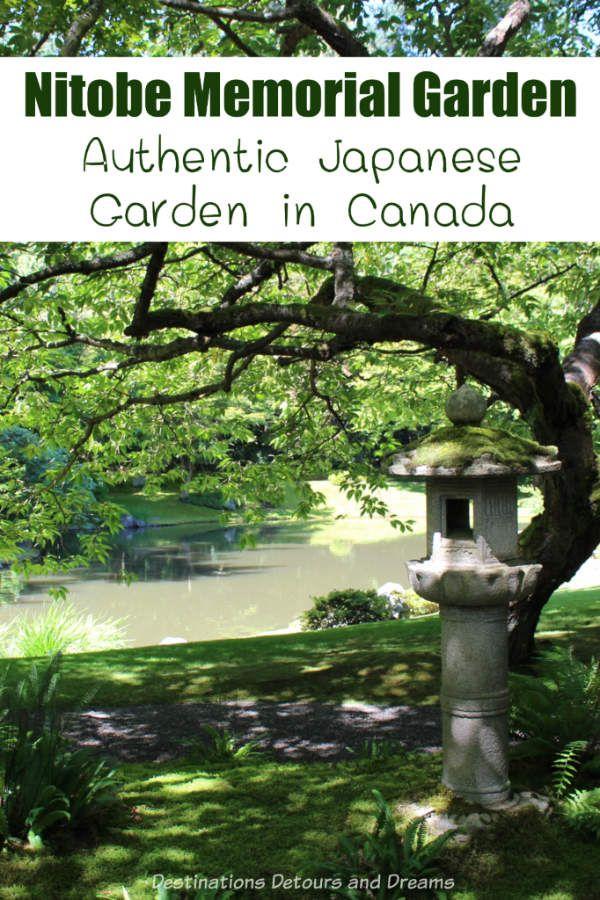 Nitobe Memorial Garden: an authentic Japanese garden in Canada on unviersity grounds in Vancouver, British Columbia #Canada #Vancouver #Britishcolumbia ...