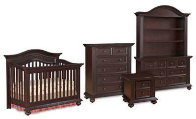 Kingsley Keyport Nursery Furniture Collection in Espresso