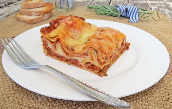This is a moist and tasty lasagna. I've tried a few lasagna recipes over the years and I've modified these recipes and came up with this one. It's a lot easier than it looks and tastes fantastic.