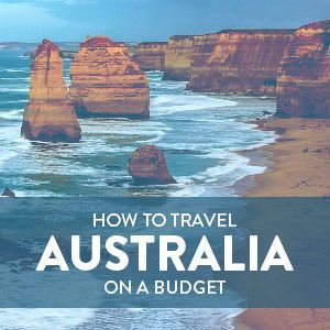 How to Travel in Australia on a Budget Budget travel tips #travel #budget