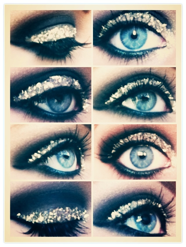 Sparkling eyeshadow ✨