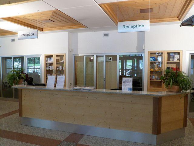 Reception stabilimento termale www.termepejo.it