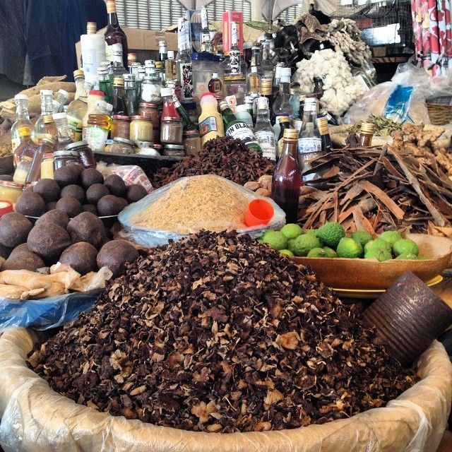 Spices, chocolate, mushrooms, rum and more at the Marché en Fer in Port-au-Prince, Haiti. Fun market to explore for everything from Vodou scarves to natural herb remedies to sweet fruits to local art. Could get lost exploring this place for hours and hours...