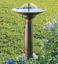birdbath? must be a way to keep mosquitos out.