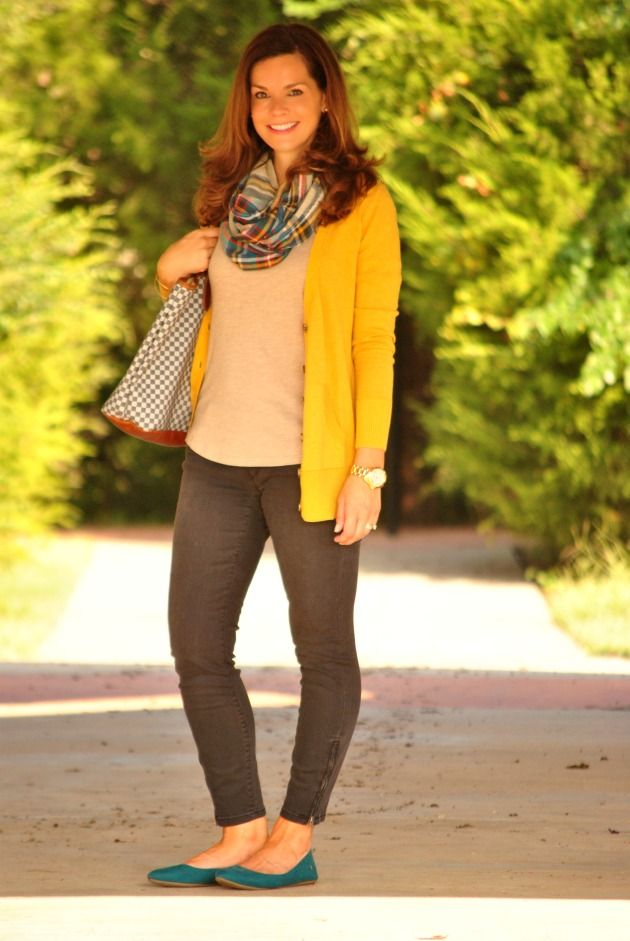 155 best images about How to Wear: Mustard Cardigan on ...
