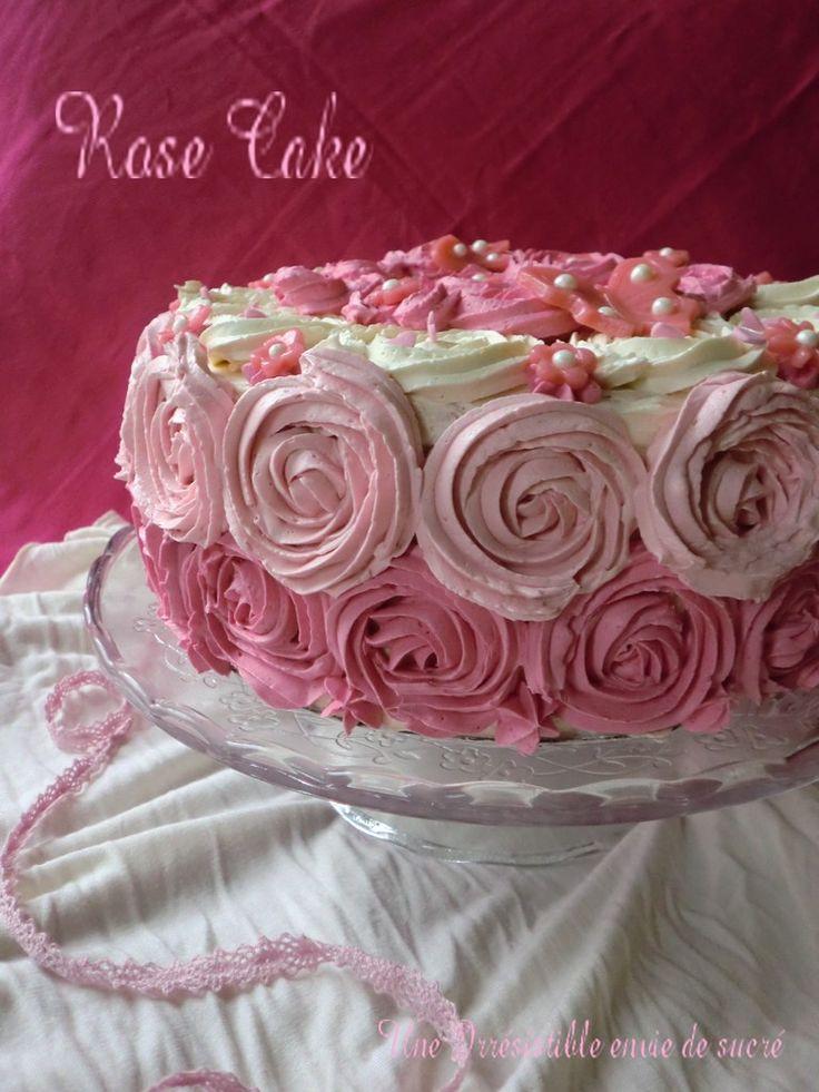"""Rose Cake Au citron vert  """"Gâteau D'Anniversaire"""" - Une Irrésistible Envie De Sucré ..."""