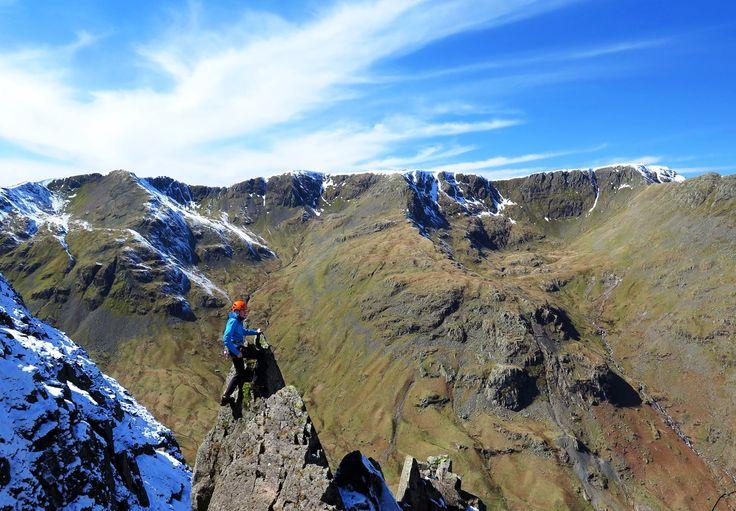 Dan Pocock #MEclimbing Photo Competition Pinnacle Ridge (3), St Sunday Crag