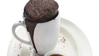 Brownie mini in een mok, snel klaar! Hoe leuk is dit!!! Recept in Nederlands