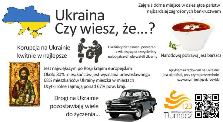 Ukraina ciekawostki językowe i kulturowe