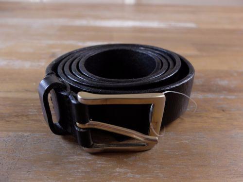 DSQUARED2 Dsquared black leather belt -Size Large L (fits size 39 waist) - NWOT