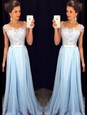 Fashion Prom Dress For Woman, Simole Prom Dress, Long Party Dresses