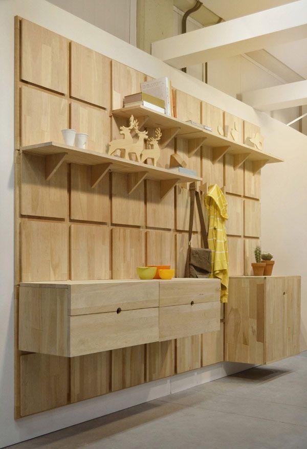 Beautiful Yes, Oui Si Modular Modern Shelving
