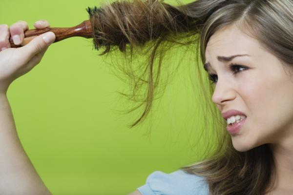 Struggle hair