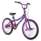 Bike For A Girl 20 Inch Bicycle Boys Kids 1 Speed Outdoor Cycling Bmx Children4  Gender - Women, Bicycle Wheel Diameter - 20, Bicycle Frame Size - 10, Age Group - Child, Number of Speeds - 1 Speed, Color - Purple Satin Purple, Size - 20, Manufacturer Part Number - 32001, Assembled Product Dimensions (L x W x H) - 56.50 x 25.00 x 22.00 Inches, EAN - Does Not Apply, ISBN - Does Not Apply, UPC - 016751320014