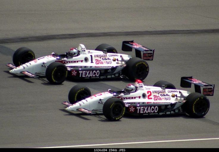 Mario and Michael 1992 Indy 500