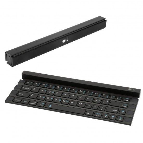 Ver LG lanza al mercado un teclado enrollable portátil